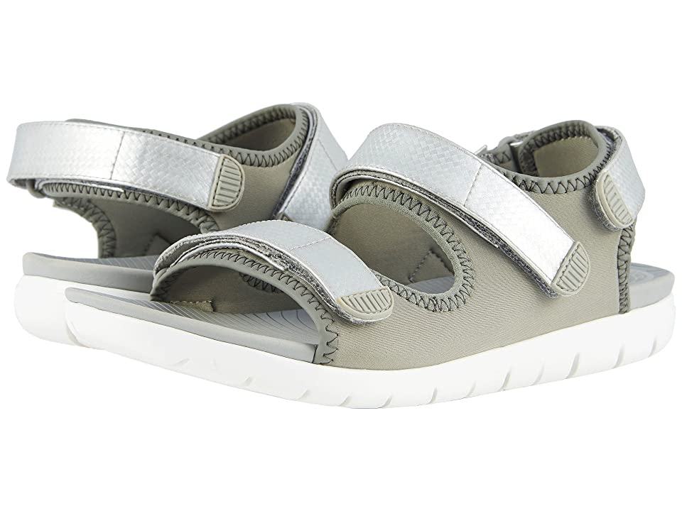 FitFlop Neoflex Back Strap Sandals (Soft Grey/Silver) Women