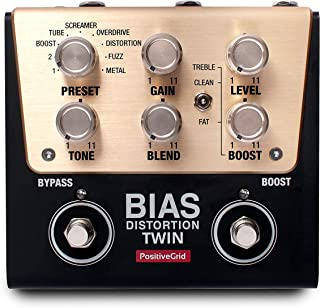 Positive Grid BIAS Distortion Twin Guitar Effects Pedal