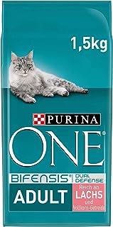 Purina One BIFENSIS Volwassen Kattenvoeding, Droog, Rijk aan Zalm, Versterkt Natuurlijke Afweersysteem voor Gezonde Botte...