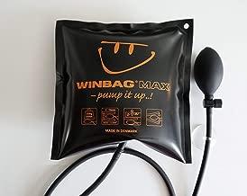 2 pi/èces 5.9 x 6.4 Petit Coussin Gonflable Pump Air Wedge en Plastique Wedge Pompe /à air Outil Alignement Outil Inflatable Shim Coussin/é Puissant pour Installation des Portes,Chargement 200 kg noir