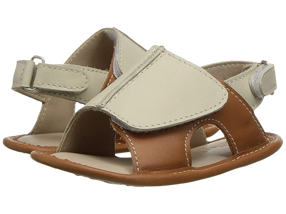 Elephantito Toby Sandal (Infant/Toddler) (Natural) Boys Shoes