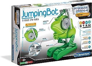 Clementoni - 19138 – Ciencia y Juego – Jumpingbot – Fabricado en Italia – Robot Educativo de Juguete para niños de 8 años...