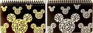 MICKEY MOUSE BLACK SPIRAL AUTOGRAPH BOOKS - (2 Books Set) (STARHEAD)