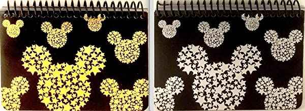 Eemrald Mickey Mouse Black Spiral Autograph Books - (2 Books Set) (STARHEAD)
