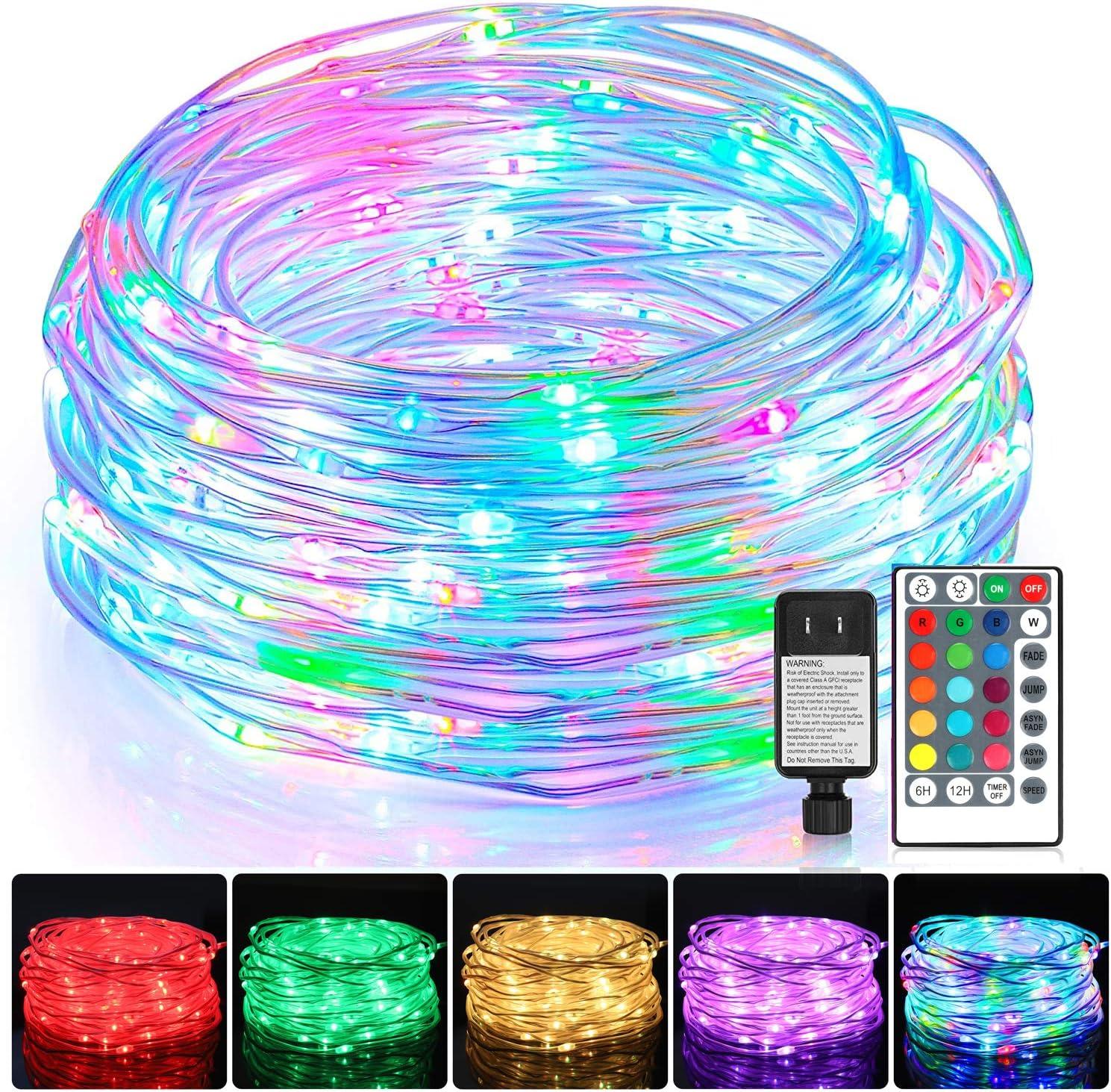 OFFer WENFENG 52FT 160 LED Color Changing Led Lights Outdoor Wat Rope Under blast sales