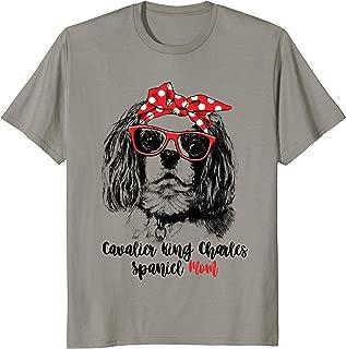 Cavalier King Charles Spaniel Mom T-Shirt Gift For Women