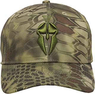 Spartan Logo Camo Hunting Hat - 3D Layered Camouflage