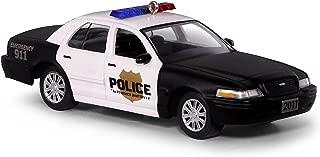 Hallmark Keepsake Christmas Ornament 2018 Year Dated, 2011 Ford Crown Victoria Police Interceptor, Metal Car