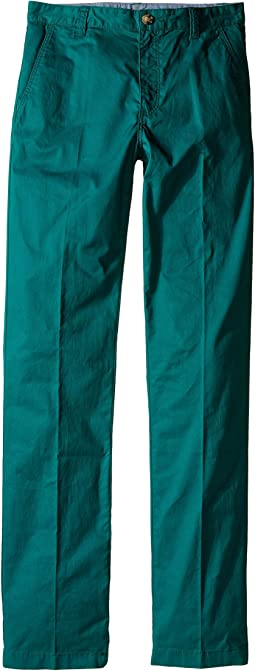 Cotton Gabardine Flat Front Chino (Little Kids/Big Kids)