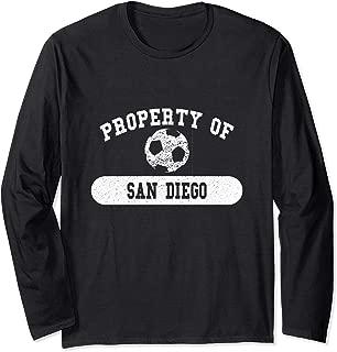 Property of San Diego, CA Soccer | California Long Sleeve T-Shirt