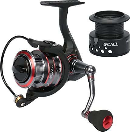RUNCL Spinning Reel Grim II, Spinning Fishing Reel -...