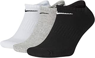 NIKE, Everyday Cushion No-show Training Socks (3 Pair) Calcetines Hombre