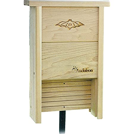 Woodlink Audubon Bat Shelter Model NABAT Light Brown, 12'' x 4.25'' x 17.5'' box