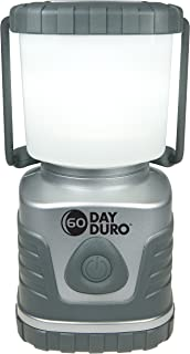UST 60-DAY Duro LED Portable 1200 Lumen Lantern with Lifetime LED Bulbs and Hook for Camping, Hiking, Emergency and Outdoor Survival