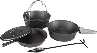 Best stansport pre-seasoned cast-iron cookware 6-piece set Reviews