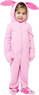 Toddlers' One Piece Deranged Bunny Pajama Costume Union Suit Outfit