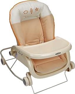 コンビ Combi ローラックチェア プルメア S ペールオレンジ (新生児~2歳頃対象) 多目的ロッキングローラック