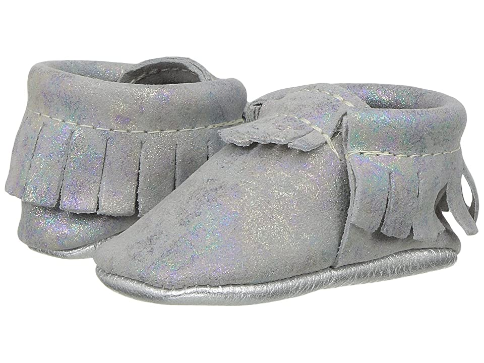 Freshly Picked Soft Sole Moccasins (Infant/Toddler) (Galaxy Light) Girl