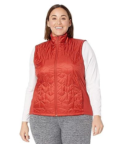 Brooks Shield Hybrid Vest (Rosewood) Women