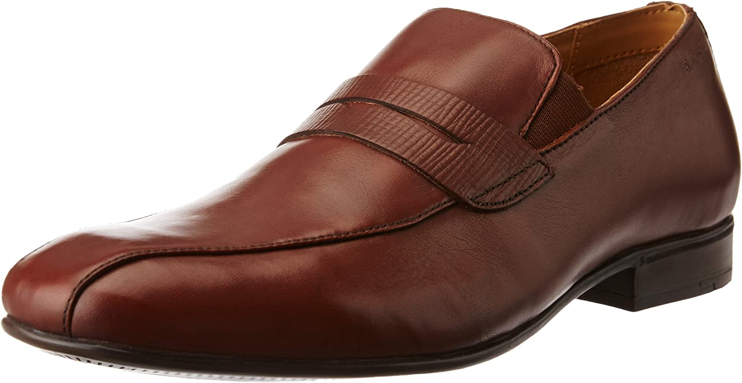 Ruosh Men's Brown Leather Formal shoes - 7.5 UK India (41 EU)