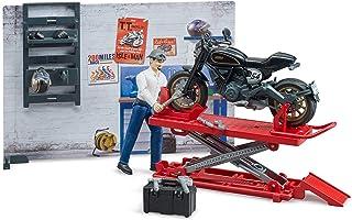 <h2>bruder 62101 Bworld Motorradwerkstatt, Mehrfarbig</h2>