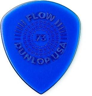 Jim Dunlop 549P0.73 Flow Standard Grip Picks, 73 mm, Set of 6 Pieces