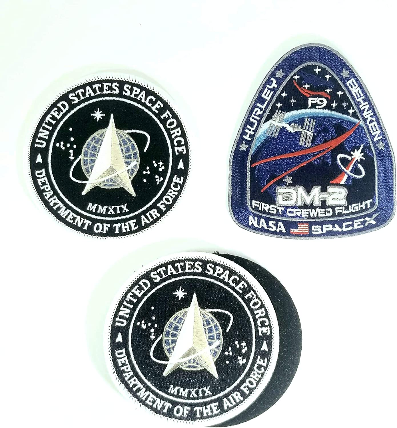 NEW EUTELSAT-2 SPACEX ORIGINAL MISSION PATCH FALCON 9 ISS NASA FREE SHIPPING