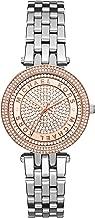 Michael Kors Women's Mini Darci Silver-Tone Watch MK3446