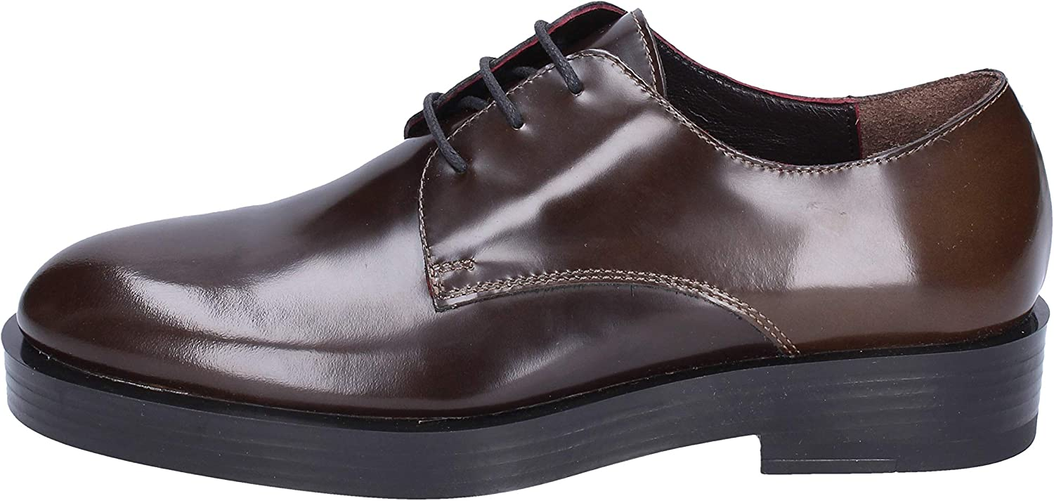 TRIVER FLIGHT Oxfords-shoes Womens Leather Brown