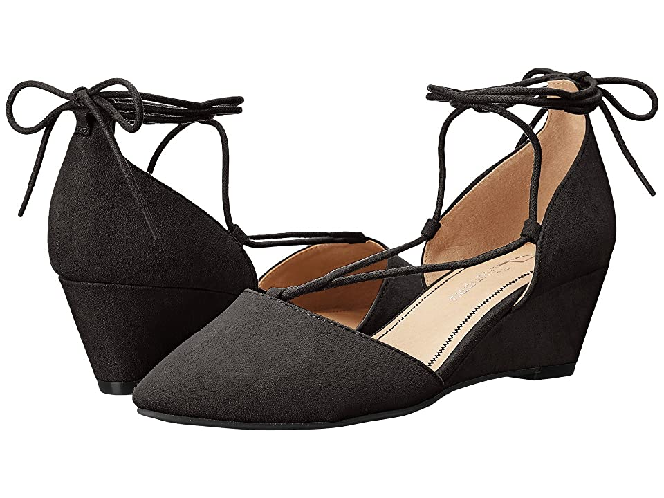 CL By Laundry Trissa (Black Super Suede) Women
