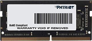 Patriot Memory DDR4 2666MHz PC4-21300 8GB SODIMM ノートパソコン用メモリ 永久保証 PSD48G266681S