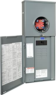 Square D by Schneider Electric RC816F200C Homeline 200-Amp Main Breaker 8-Space 16-Circuit Outdoor Overhead/Underground CSED