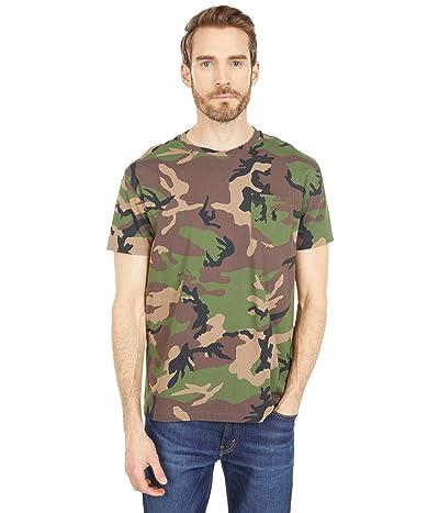 Polo Ralph Lauren Classic Fit Camo Pocket T-Shirt (Surplus Camo) Men