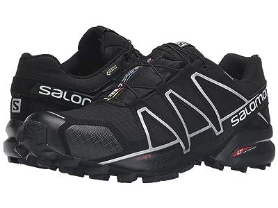 Salomon Speedcross 4 GTX (Black/Black/Silver Metallic-X) Men