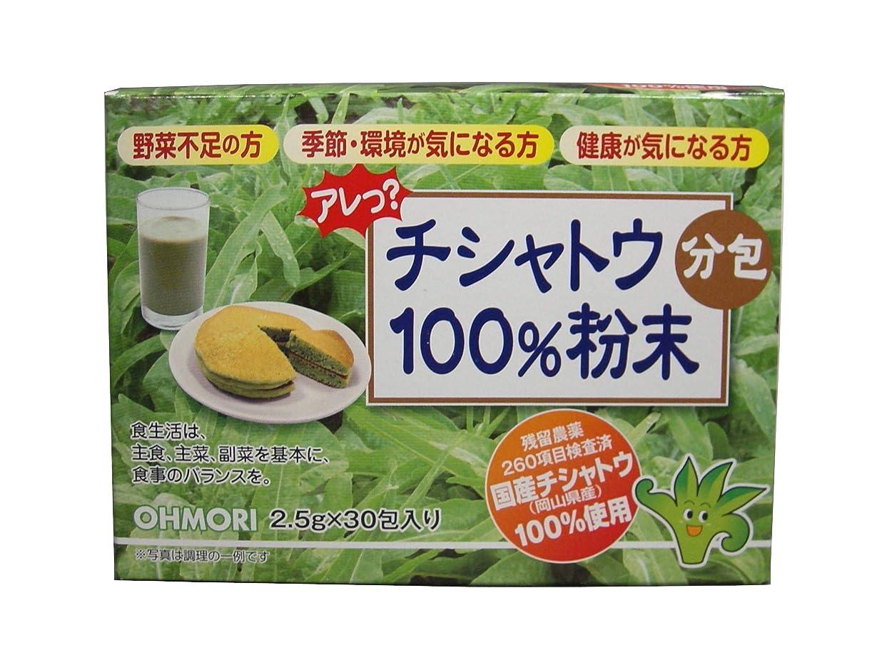 苦行終了しました変な抗アレルギー作用の特許 チシャトウ100%粉末分包 2.5g×30包入 花粉 健康 アトピー 青汁