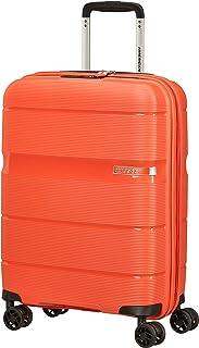 American Tourister Linex Bagagli- Bagaglio a mano, S (55 cm - 34 L), Orange (Tigerlily Orange)