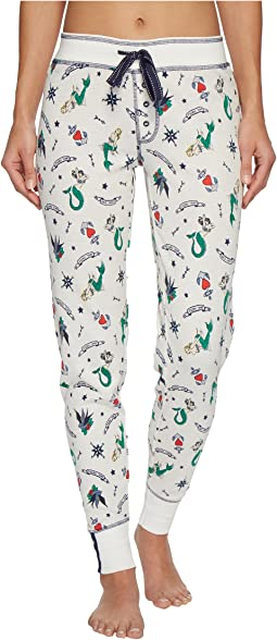 P.J. Salvage Soul Mates Mermaid Joggers