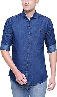 Kuons Avenue Men's Denim Shirt for Men