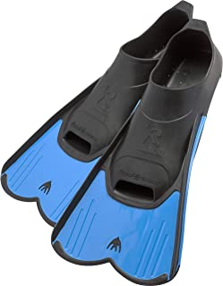Cressi Short Full Foot Pocket Fins for Swimming or Training in the Pool and in the Sea  ..