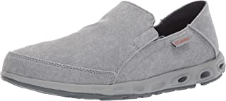 columbia mens canvas slip on shoes