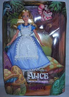Disneys Alice in Wonderland with Cheshire Cat collector Doll