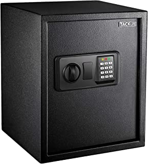 TACKLIFE 1.52 Cubic Feet Home or Business Safe Made of Carbon Steel Electronic Digital Safe with Instruction Light and Key...