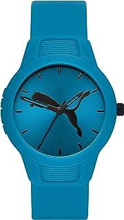Women's Reset Quartz Watch with Polyurethane Strap, Blue, 18 (Model: P1014)