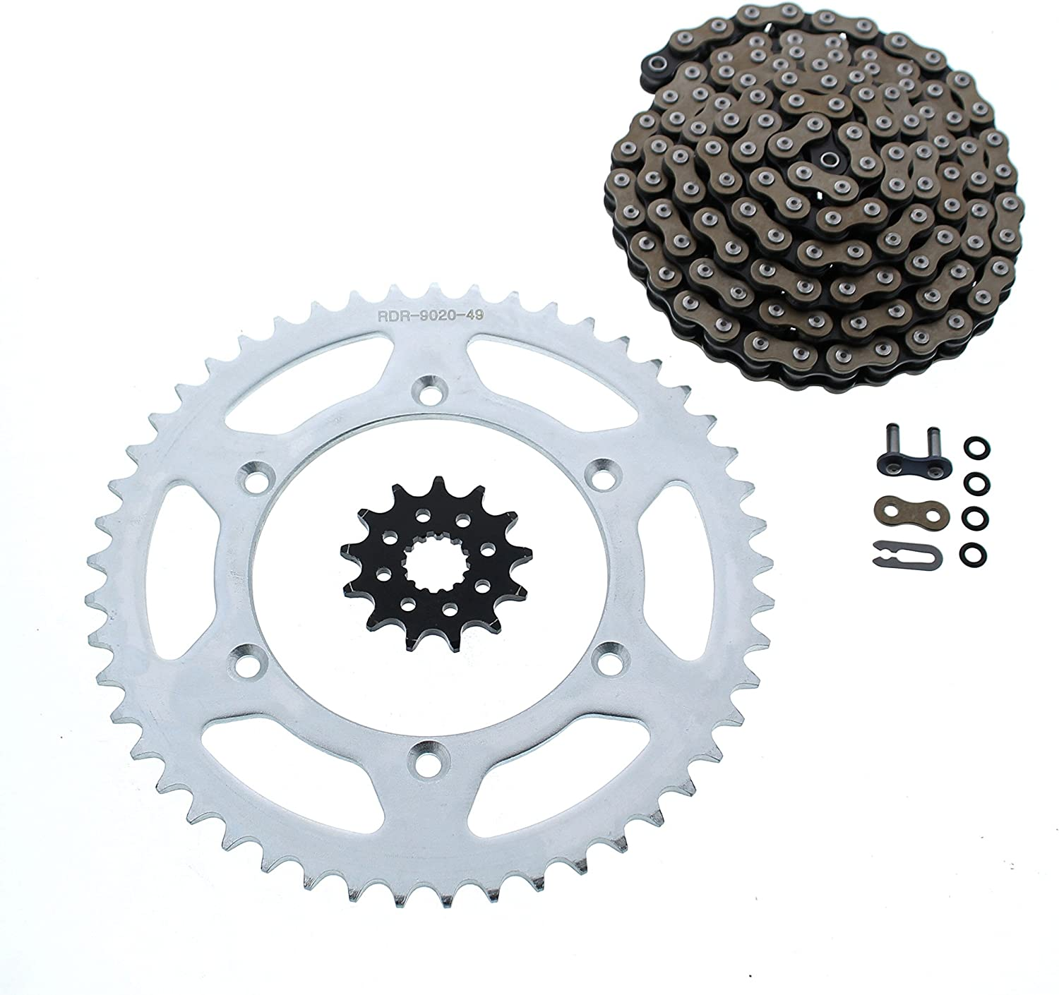 CZ ORH X Ring Chain Daily bargain sale and Sprocket Y 49 Set 13 fits Max 48% OFF 1999-2005 114L