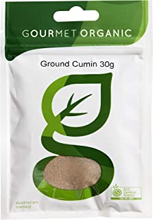 Gourmet Organic Herbs Cumin Ground, 30 g