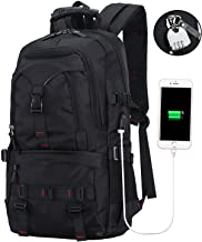 BTOOP Travel Laptop Backpack with USB for Notebook with Shoes Compartment