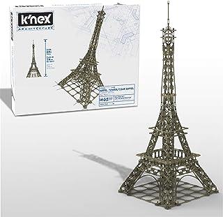 K'NEX Architecture: Eiffel Tower - Build IT Big - Collectible Building Set for Adults & Kids 9+ - New - 1,462 Pieces - 2 ...