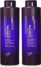 Joico Color Balance Purple Shampoo and Conditioner 33.8 oz Duo