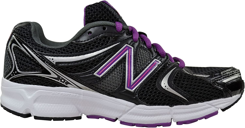 New Balance Men's Trainers Black Black Purple