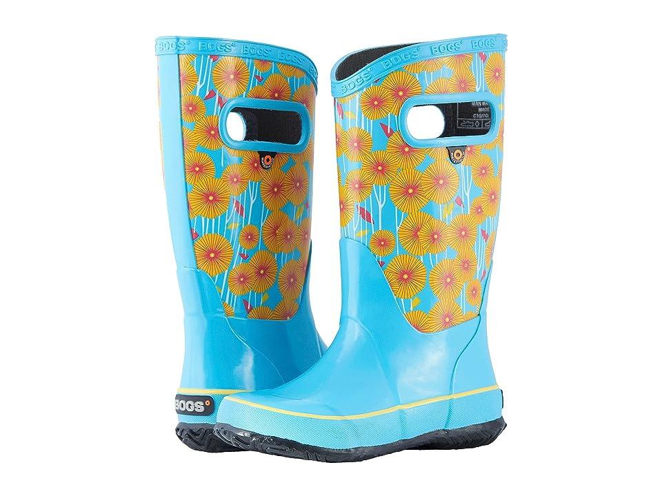 Bogs Kids Rain Boot Aster (Toddler/Little Kid/Big Kid) (Light Blue Multi) Girls Shoes